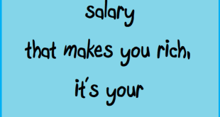 salary spending wealth savings